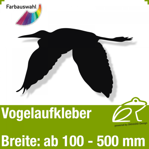 Vogelaufkleber Vogelmotiv 5