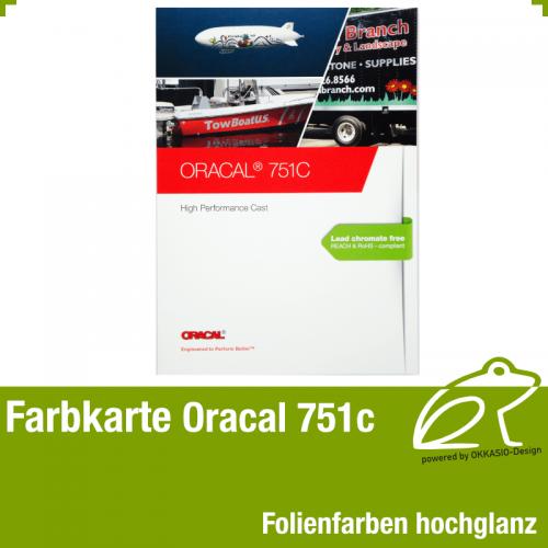 Farbkarte hochglanz - Oracal 751C High Performance Cast
