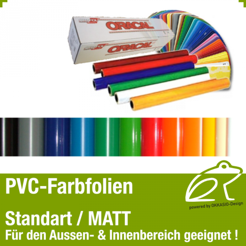 PVC Klebefolie matt - 0,5m x 1,0m