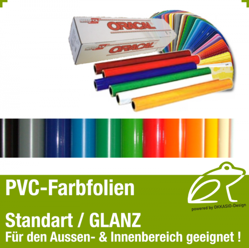 PVC Klebefolie glanz - 0,5m x 1,0m