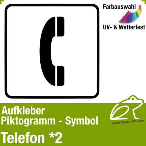 Piktogramm Symbol Aufkleber
