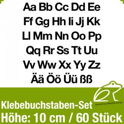 Klebebuchstaben-Set H.10cm 60Stück (GK)
