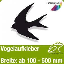 Vogelaufkleber Vogelmotiv 1