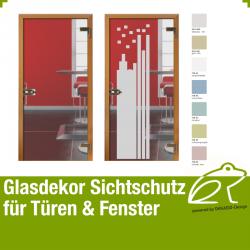 Glasdekor Sichtschutz Türfolie Art.-Nr. AFPGD10201