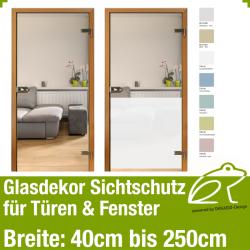 Glasdekor Sichtschutz - Flächendekor