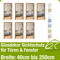 Glasdekor Sichtschutz - Punktedekor 01