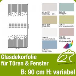 Glasdekor Sichtschutz Türfolie Art.-Nr. AFPGD10202