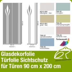 Glasdekor Sichtschutz Türfolie Art.-Nr. AFPGD10203