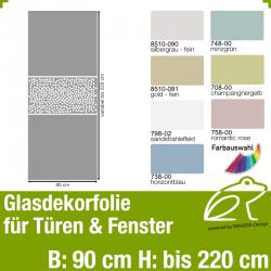 Glasdekor Sichtschutz Türfolie Art.-Nr. AFPGD10204
