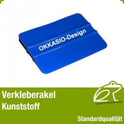 Verkleberakel Kunststoff - Standardqualität