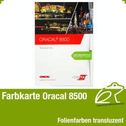Farbkarte transluzent - Oracal 8500 Translucent Cal