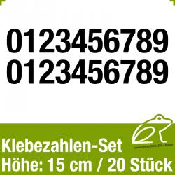 Klebezahlen-Set H.15cm 20Stück