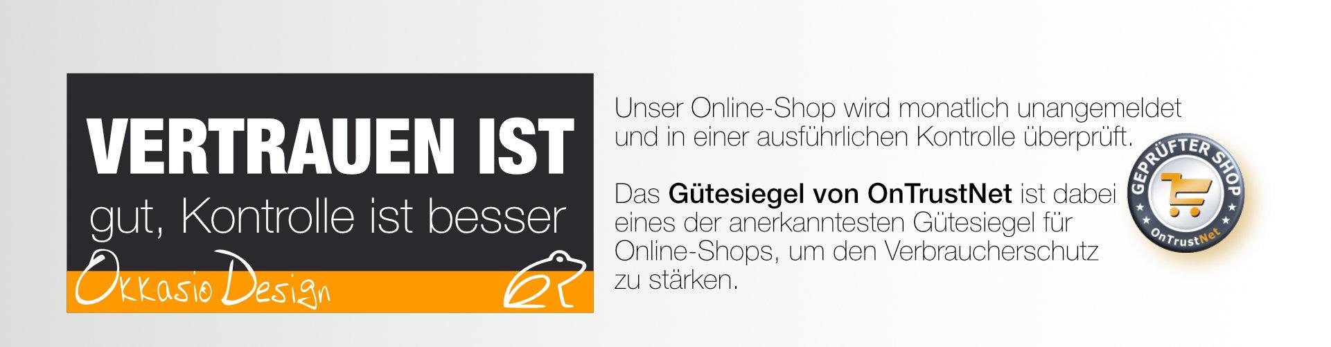 OKKASIO-Design sicher online einkaufen
